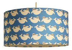Pendellampe, Kinderzimmerlampe, Kleiner Seehund, 45cm Durchm. in Möbel & Wohnen, Beleuchtung, Lampenschirme | eBay