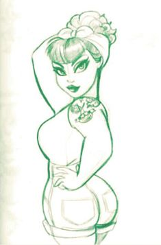 Best drawing woman cartoon pin up ideas pin up girl tattoo, pin up tattoos, Pin Up Girl Tattoo, Pin Up Tattoos, Body Art Tattoos, Girl Tattoos, Pin Up Drawings, Sexy Drawings, Cartoon Drawings, Cartoon Kunst, Cartoon Art