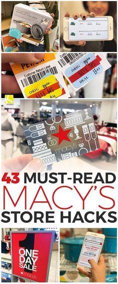43 Must-Read Macy's Store Hacks - The Krazy Coupon Lady Ways To Save Money, Money Tips, Money Saving Tips, Managing Money, Store Hacks, Shopping Hacks, Saving Ideas, Blog, Organization Hacks