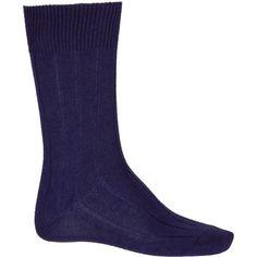 Falke Purple Lhasa Ribbed Ankle Socks ($13) ❤ liked on Polyvore featuring men's fashion, men's clothing, men's socks, falke mens socks, mens purple socks and mens ribbed socks