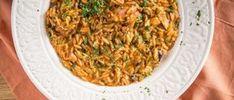 Χταπόδι με κοκκινιστό κριθαράκι & άρωμα ούζου! #Νηστίσιμα #Συνταγές