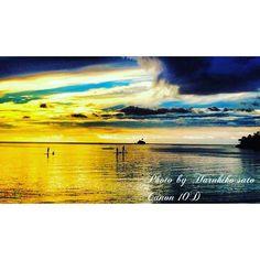 【h.a.r.u.s.a.t.o】さんのInstagramをピンしています。 《今日も1日お疲れ様でした。  #夕陽 #パラオ #海 #ビーチ #写真 #写真撮ってる人と繋がりたい #写真好きな人と繋がりたい #ダイバー #好き #綺麗 #sun #palau #ocean #beach #beautiful #photo #sunset #like #like4like #instagood #instagram #loves_nippon #lovers》