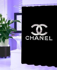 Coco Chanel New Hot Shower Curtain Design Vintage Bathroom Gift Logo Housewares