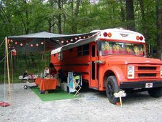 Bus to RV conversion. Who Needs a Winnebago...Make Your Own!