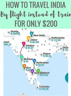 How You Can Use Kiwi's Multicity Tool to Fly ALL Around India for $200