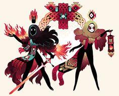 necromancer and witch friend emily rabbit