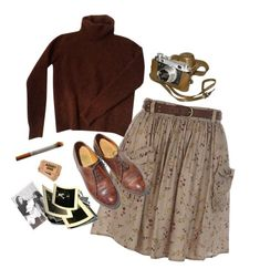 """a photographer"" by silkwitch on Polyvore featuring Fendi, River Island and Oxford"