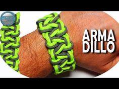 DIY Paracord Bracelet Armadillo World of Paracord How to make Paracord Bracelet . Paracord Bracelet Instructions, Paracord Bracelet Designs, Paracord Tutorial, Bracelet Knots, Paracord Projects, Bracelet Crafts, Paracord Bracelets, Bracelet Tutorial, Survival Bracelets