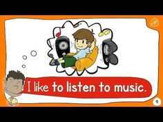 English Corner Time: My Hobbies 2 - What Do You Like to Do? - by ELF Learning http://englishcornertime.blogspot.com