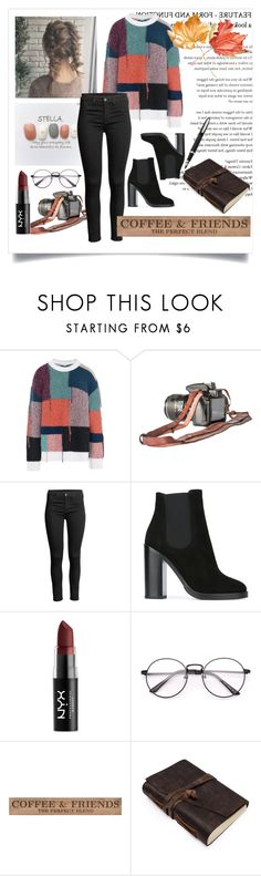 """Без названия #74"" by aailujk ❤ liked on Polyvore featuring STELLA McCARTNEY, Dolce&Gabbana, NYX and DutchCrafters"