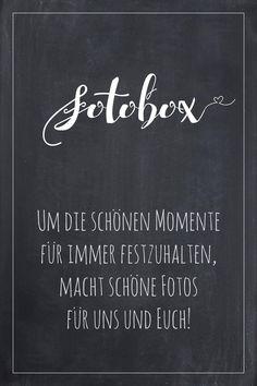 Fotobox Schild für die Hochzeit im Tafel-Look. Finde bei uns viele weitere Vorlagen für Schilder in über 20 verschiedene Farben!