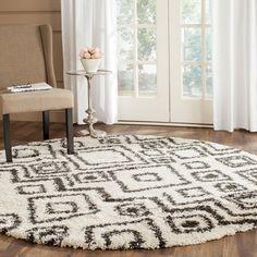 Shag Collection SGB488B Color: Ivory / Charcoal  #rug #carpet #safavieh #safaviehrug  #trendy #homedecor #homeaccents #shophome #livingroom #diningroom #bedroom #kitchen #office #rugsforyourhome #shag #shagrug #shagcarpet #softshagrugs #shagrugdesign #stunningshagrugs #safaviehshag #safaviehshagrugs #trendyrugs #bestrugs #bestrugprices