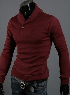 Mens-Shawl-Collar-Sweater-Red-356x480.png (356×480)
