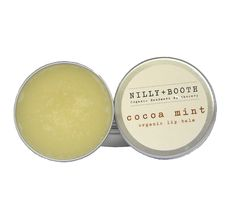 Cocoa Mint Organic Lip Balm | NILLY+BOOTH  www.nillyandbooth.com.au