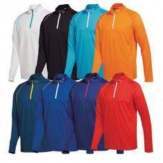 e822cd756c3cc4 The PUMA Golf 1 4 Zip Long Sleeve Crested Polo is an excellent golf shirt