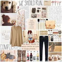 "look septiembre     ""we should run"" by purplescarecrow on Polyvore"