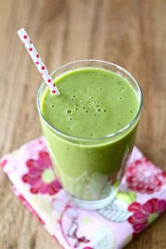 Pineapple Mango Green Smoothie.. This was excellent with a bit of ginger!