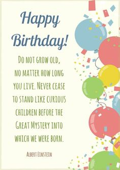 Famous Birthday Quotes 50 Most Unique Happy Birthday Wishes To You  Funny Birthday Message .