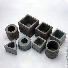 Картинки по запросу как делать горшки из бетона
