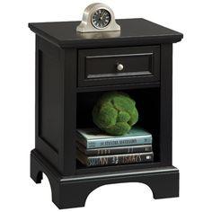 Home Styles Bedford 1 Drawer Nightstand & Reviews   Wayfair $119