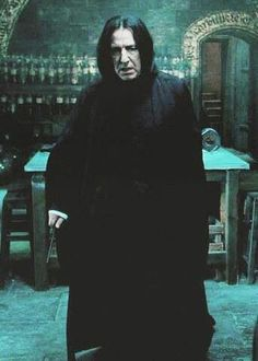 Snape: the character we all hated, but felt sorry for, and then we all loved him.