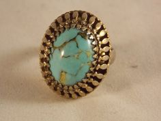 Vintage Whiting and Davis Adjustable Ring by ArizonaCollectibles, $20.00