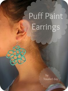 Puff Paint Jewelry