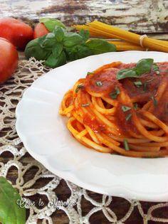 Pasta con sugo di aceto balsamico  aceto balsamico, cibi vegani, cucina italiana, cucina primi piatti, cucina vegetariana, cucinare i pomodori, pasta con aceto, pasta pomodoro e aceto, primi vegan