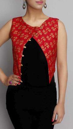 Simple Kurti Designs, New Kurti Designs, Churidar Designs, Kurta Designs Women, Kurti Designs Party Wear, Kurti Sleeves Design, Kurta Neck Design, Sleeves Designs For Dresses, Dress Neck Designs