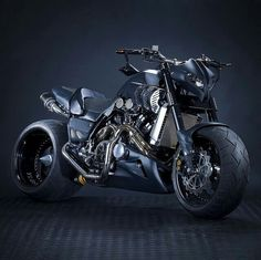 Custom Yamaha V-Max motorcycle
