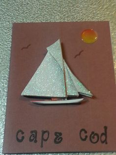 Homemade cards boats cape cod by me Diana