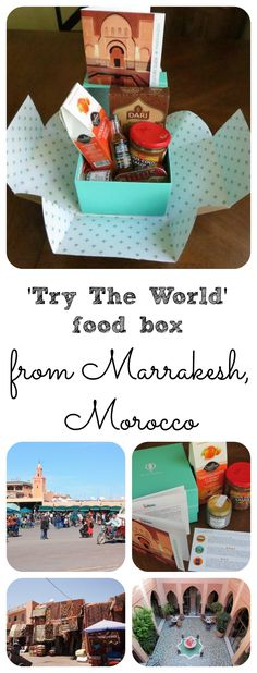 'Try The World' Moroccan Food Box - Postcards & Passports