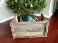 Make a wooden tree skirt