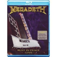 Rust In Peace Live [Blu-ray][Region Free]:Megadeth American thrash metal band Megadeth perform live at the Hollywood Palladium on the final night of their month-long Rust in Peace 20th anniversary tour in March 2010.... (Barcode EAN=0602527474137) http://www.MightGet.com/january-2017-12/rust-in-peace-live-[blu-ray][region-free]megadeth.asp