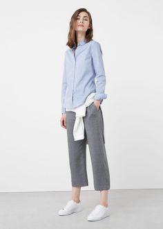 Cotton shirt   MANGO