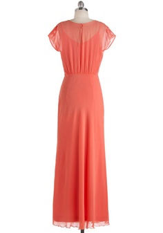 Dreaming in Coral Dress, #ModCloth