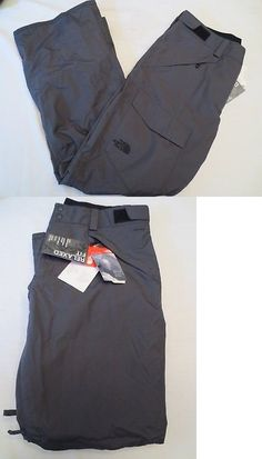 Snow Pants and Bibs 36261: The North Face Freedom Insulated Ski Snowboard Pants Tnf Grey Mens Size Xl Nwt -> BUY IT NOW ONLY: $89.99 on eBay!