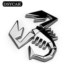 3D Metal Moto Car sticker Logo Badge Emblem Decal Car styling For Fiat Bmw Ford Lada skoda opel Audi toyota honda mazda VW volvo