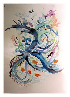 Watercolor Tattoo, Tattoos, Watercolour, Finding Nemo, Tatuajes, Japanese Tattoos, Tattoo, Tattoo Illustration, A Tattoo