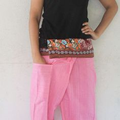 fabric  inside fold-over with pink full length  by meatballtheory