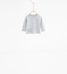 Image 1 of Striped knit sweater from Zara
