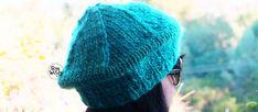Un proyecto en dos agujas para principiantes: cómo tejer una Boina Francesa paso a paso, con un ovillo y con sólo saber tejer el punto derecho y el punto revés. Knitted Hats, Winter Hats, Knitting, Crafts, Hippy, Blog, Templates, Ideas, Crochet Sandals