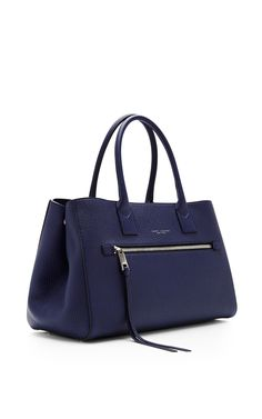 The Big Big Apple Grained-Leather Tote by Marc Jacobs - Moda Operandi