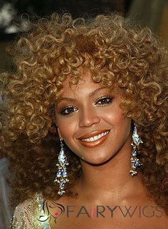 Afro American Wigs Medium Curly Brown African American Lace Wigs for Women