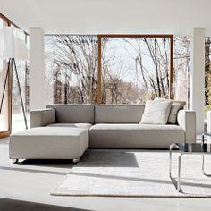 HAUS - Barber Osgerby Asymmetric Sofa by Edward Barber and Jay Osgerby