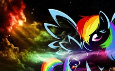 Rainbow Dash Wallpaper | ... Rainbow Dash Wallpapers my little pony friendship is magic wallpaper