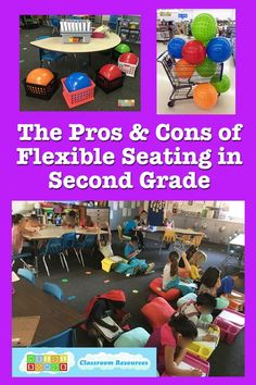 The Pros and Cons of Flexible Seating in Second Grade - HeidiSongs