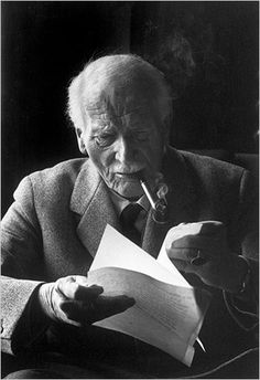 Carl Jung taken by a fantastic photographer Henri Cartier-Bresson