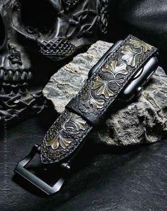Ginkgoes Watchband For Apple Watch ⌚  trioleatherart  dinnidworkshop   handmade  leather   ccef4ab5b95