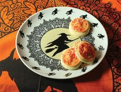 MIDNIGHT RIDE PLATTER - Halloween Witch Plate